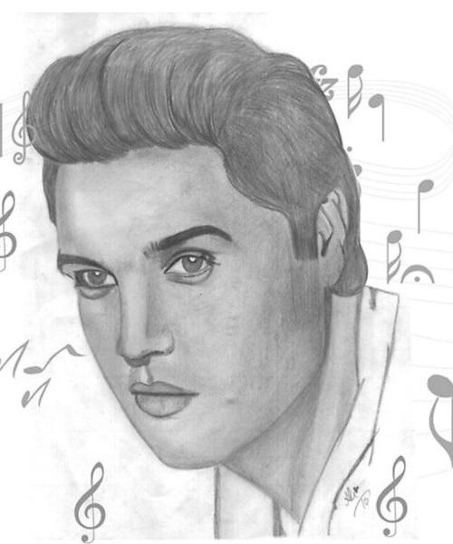 Elvis Presley by bobbydar01@gmail.com